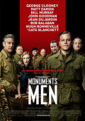 Cartel de Monuments Men | Cinerama