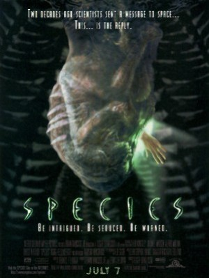 Cartel de Species (Especie mortal) | Cinerama