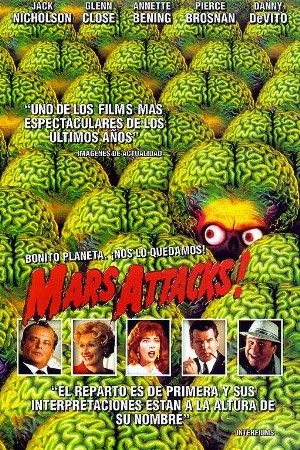 Cartel de ¡Mars Attacks! | Cinerama