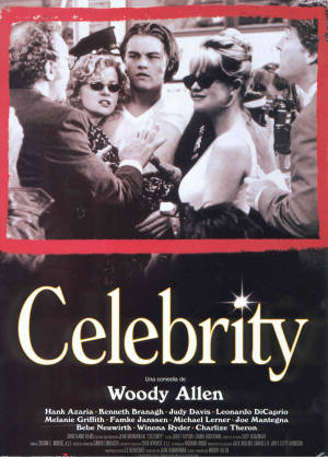 Cartel de Celebrity | Cinerama