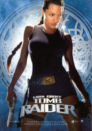 Cartel de Lara Croft: Tomb Raider | Cinerama