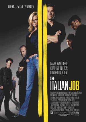 Cartel de The italian job | Cinerama