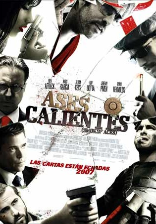 Cartel de Aces calientes | Cinerama
