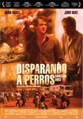 Cartel de Disparando a perros | Cinerama