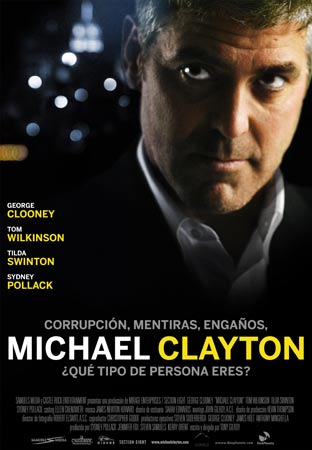 Cartel de Michael Clayton | Cinerama