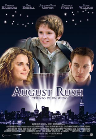 Cartel de August Rush | Cinerama