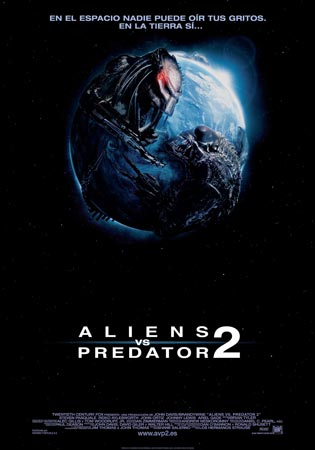 Cartel de Alien vs Predator 2 | Cinerama