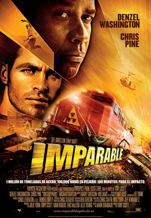 Cartel de Imparable | Cinerama