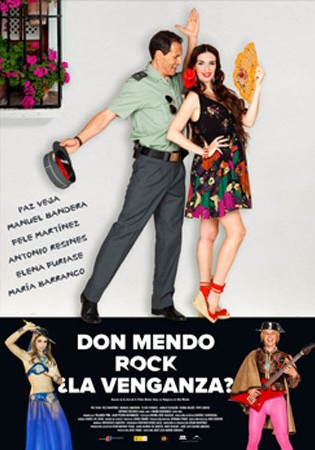 Cartel de Don Mendo Rock ¿La venganza? | Cinerama