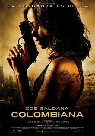 Cartel de Colombiana | Cinerama