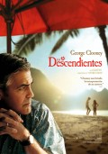 Cartel de Los descendientes | Cinerama