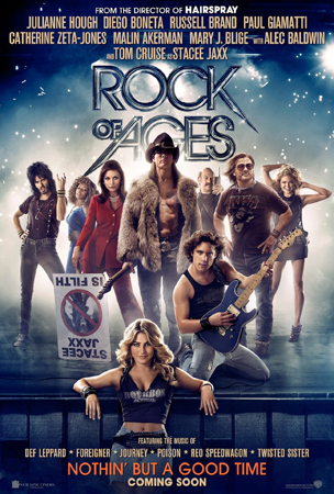 Cartel de Rock of Ages (La era del rock) | Cinerama