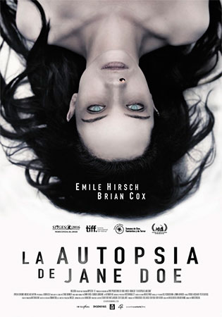 Cartel de La autopsia de Jane Doe | Cinerama