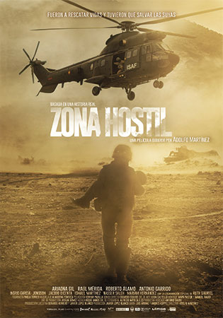Cartel de Zona Hostil | Cinerama