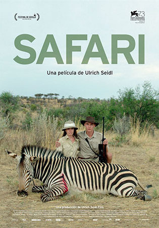 Cartel de Safari | Cinerama