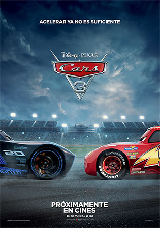 Cartel de Cars 3 | Cinerama