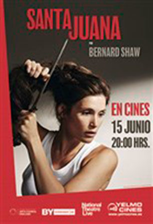Cartel de Santa Juana National Theatre (Live) | Cinerama
