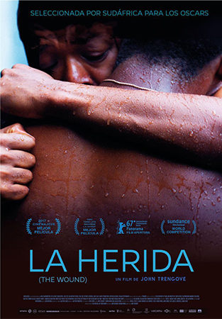 Cartel de La herida (The Wound) | Cinerama