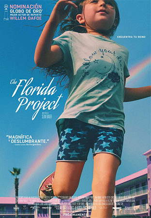 Cartel de The Florida Project | Cinerama