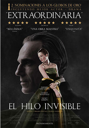 Cartel de El hilo invisible | Cinerama