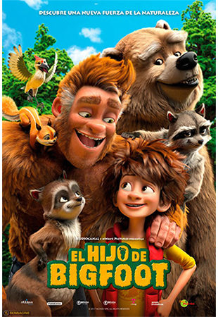 Cartel de El hijo de Bigfoot | Cinerama
