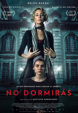 Cartel de No dormirás | Cinerama