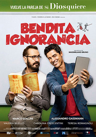 Cartel de Bendita ignorancia | Cinerama