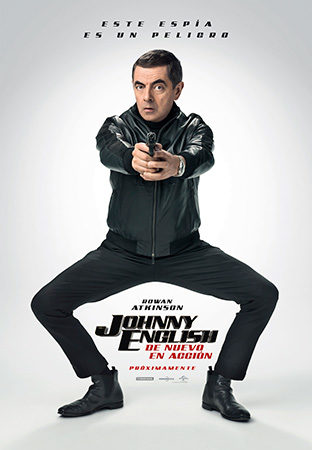 Cartel de Johnny English: de nuevo en acción | Cinerama