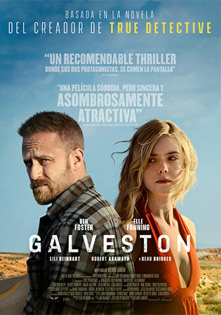 Cartel de Galveston | Cinerama