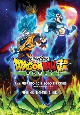 Cartel de Dragon Ball Super: Broly | Cinerama