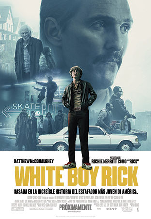Cartel de White Boy Rick | Cinerama