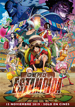Cartel de One piece: estampida | Cinerama