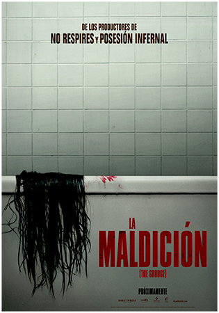 Cartel de La maldición (The grudge) | Cinerama