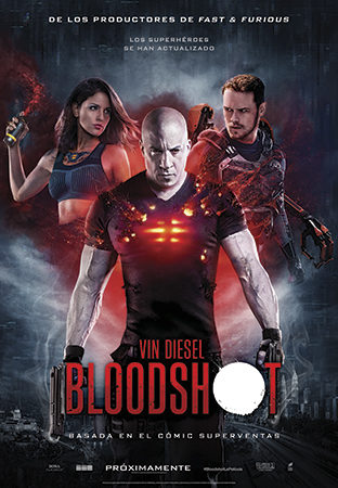 Cartel de Bloodshot | Cinerama